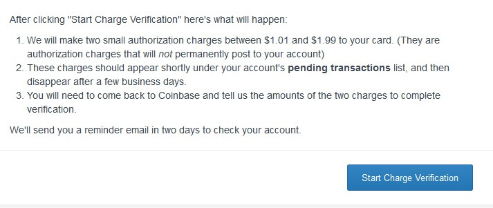 CoinBase.com Bitcoin Registration Step 7