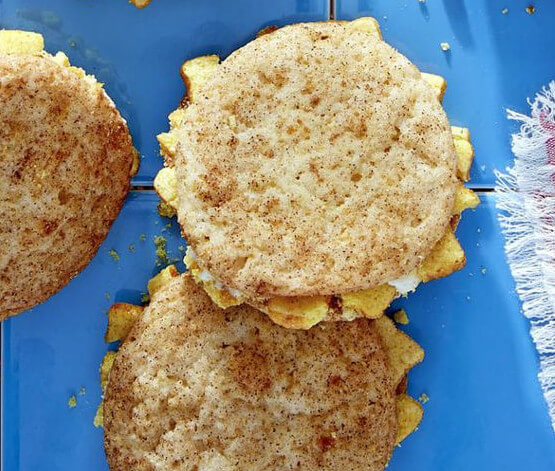 French Toast Crunch Snickerdoodles
