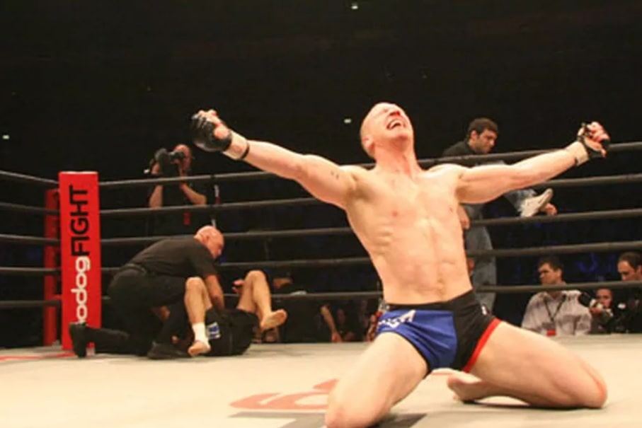 Nick Thompson MMA Bodog Fight Welterweight Champion