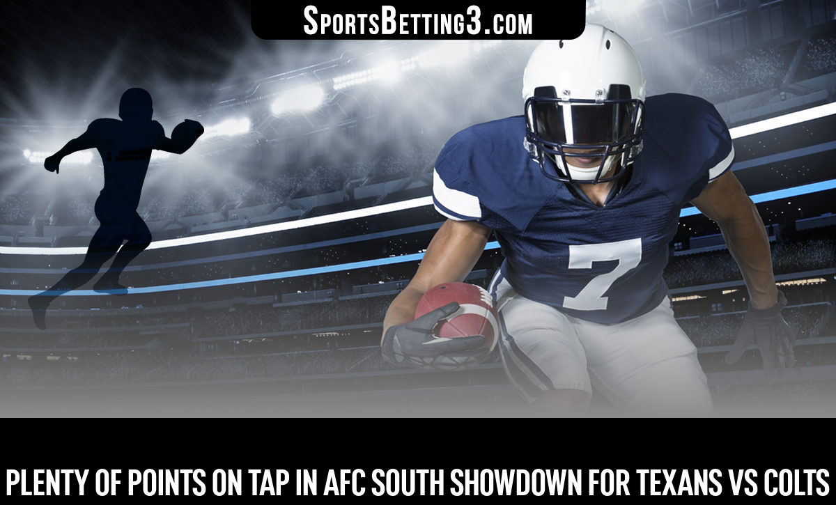 Plenty Of Points On Tap In AFC South Showdown For Texans Vs Colts