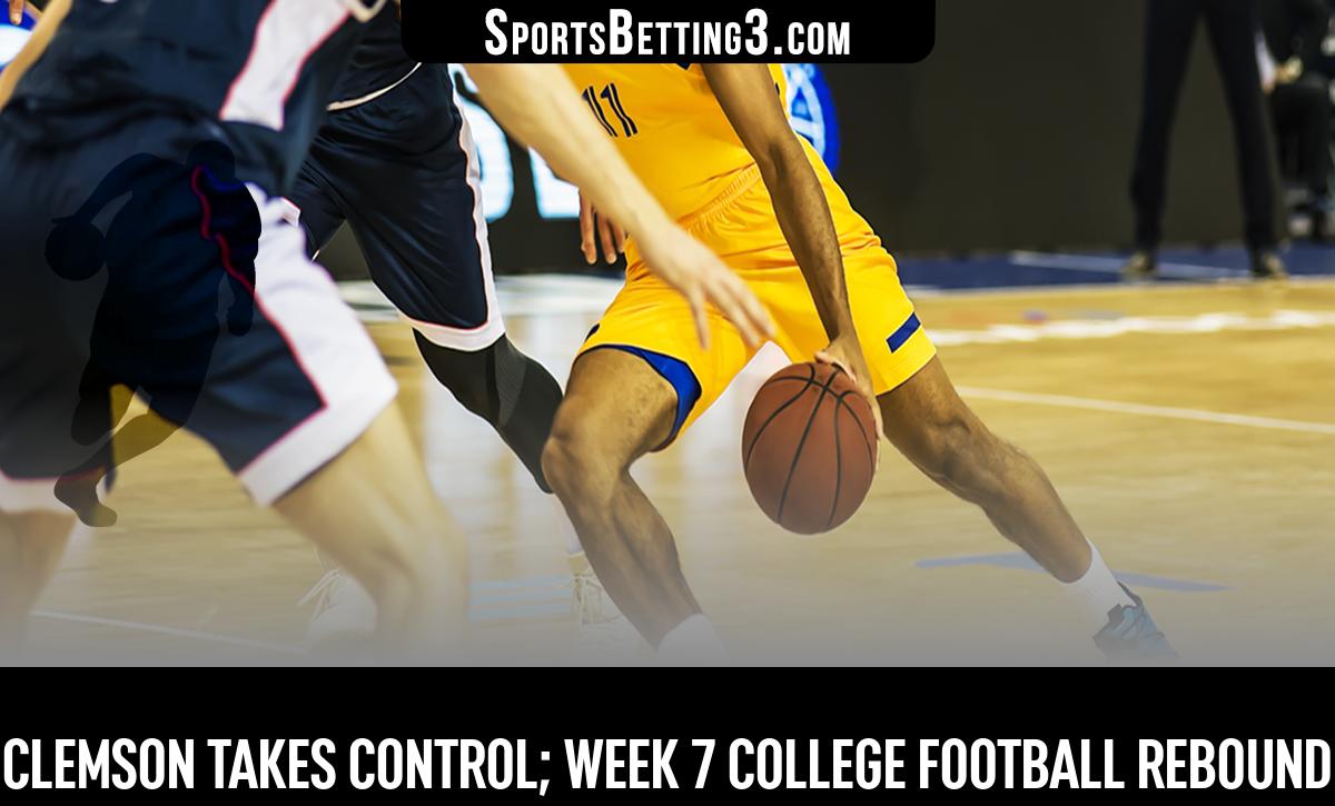 Clemson Takes Control; Week 7 College Football Rebound