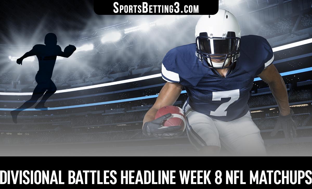 Divisional Battles Headline Week 8 NFL Matchups