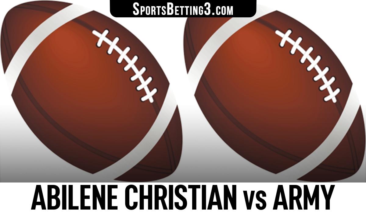 Abilene Christian vs Army Betting Odds