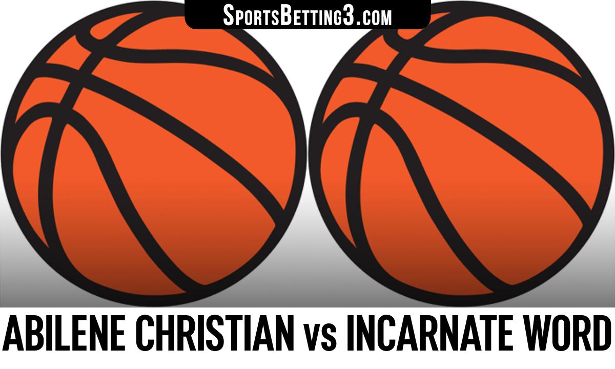 Abilene Christian vs Incarnate Word Betting Odds