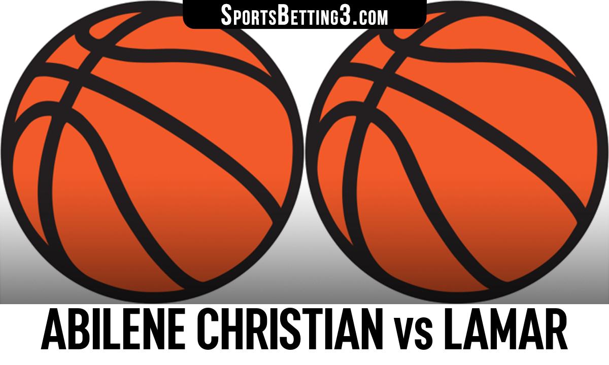 Abilene Christian vs Lamar Betting Odds