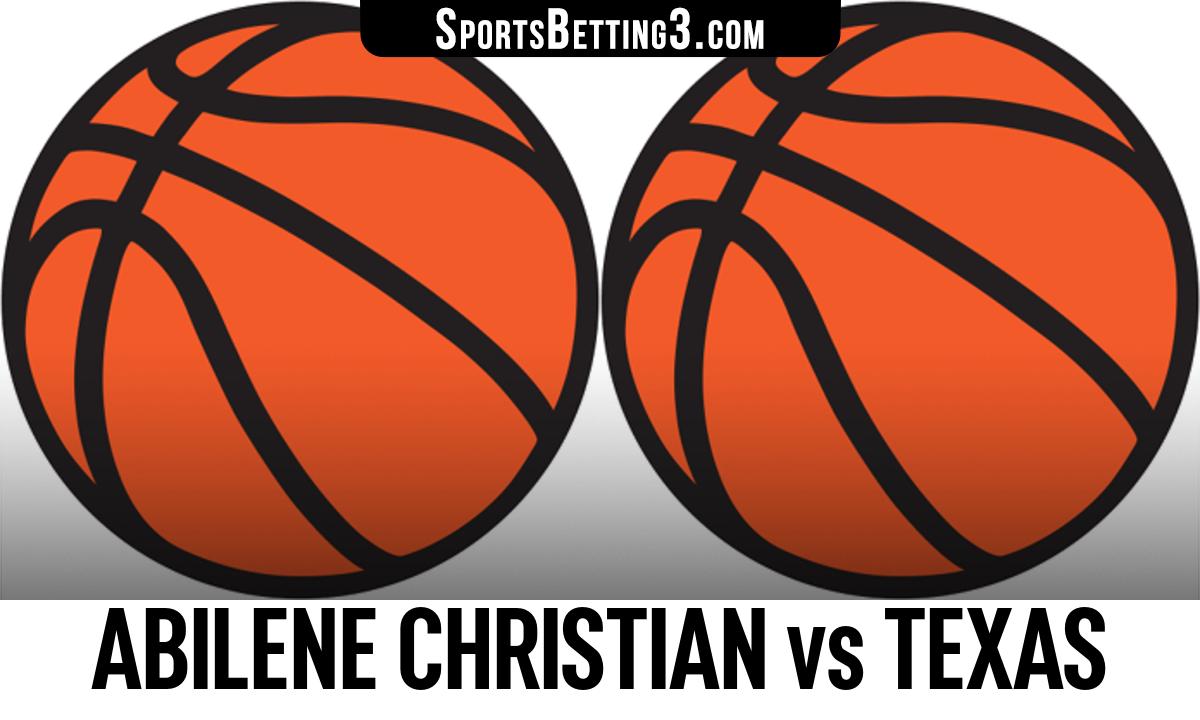 Abilene Christian vs Texas Betting Odds