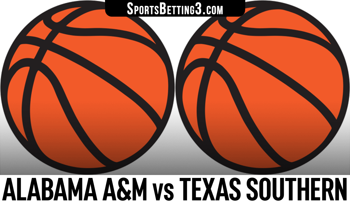 Alabama A&M vs Texas Southern Betting Odds