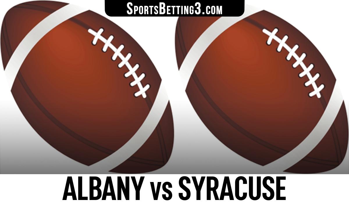 Albany vs Syracuse Betting Odds