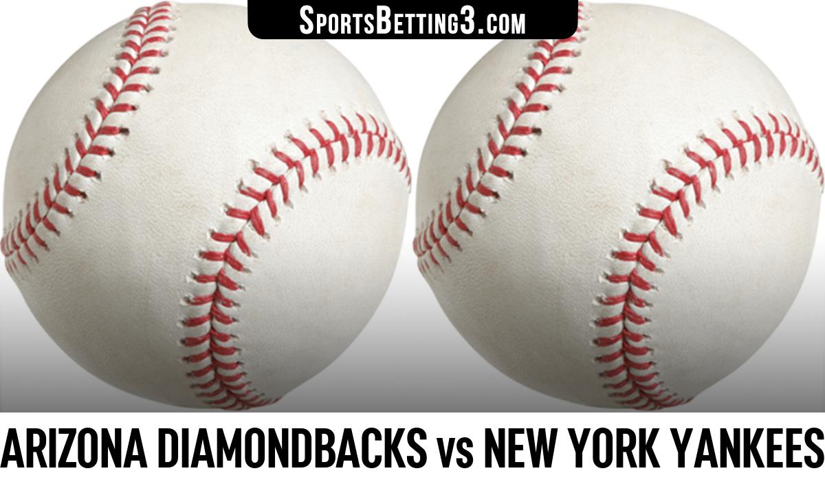 Arizona Diamondbacks vs New York Yankees Betting Odds