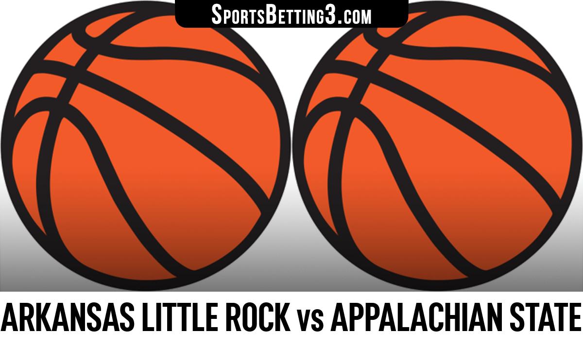 Arkansas Little Rock vs Appalachian State Betting Odds
