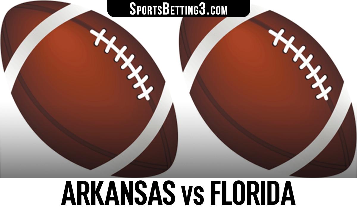 Arkansas vs Florida Betting Odds