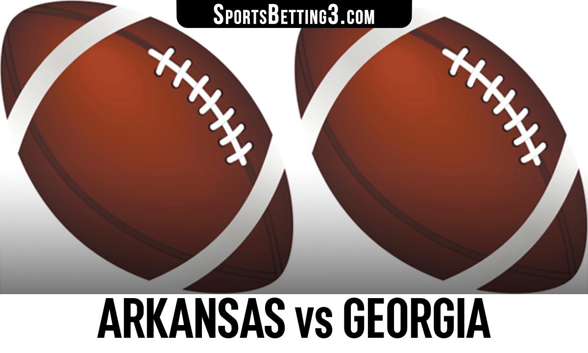 Arkansas vs Georgia Betting Odds