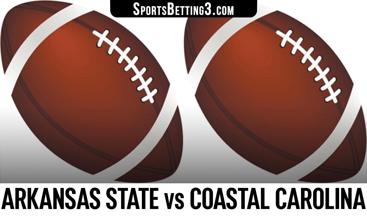 Arkansas State vs Coastal Carolina Betting Odds