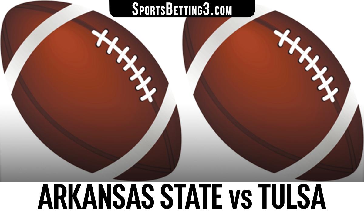 Arkansas State vs Tulsa Betting Odds