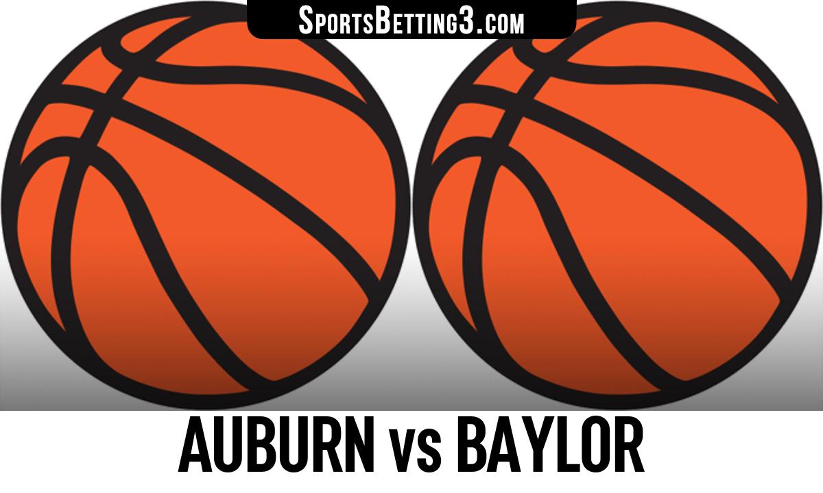 Auburn vs Baylor Betting Odds