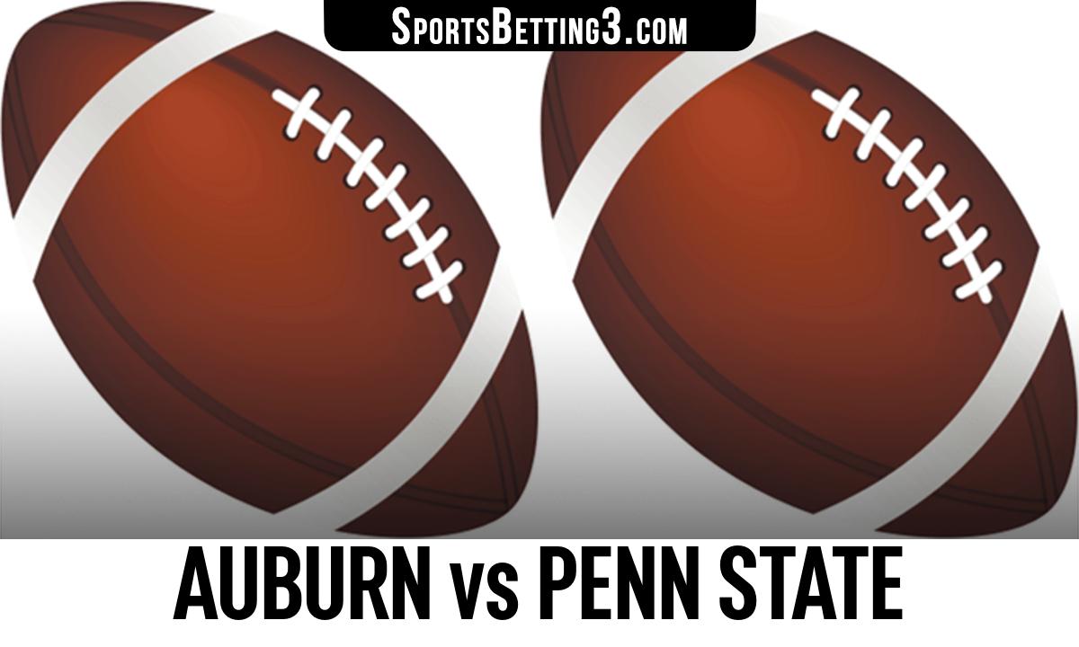 Auburn vs Penn State Betting Odds