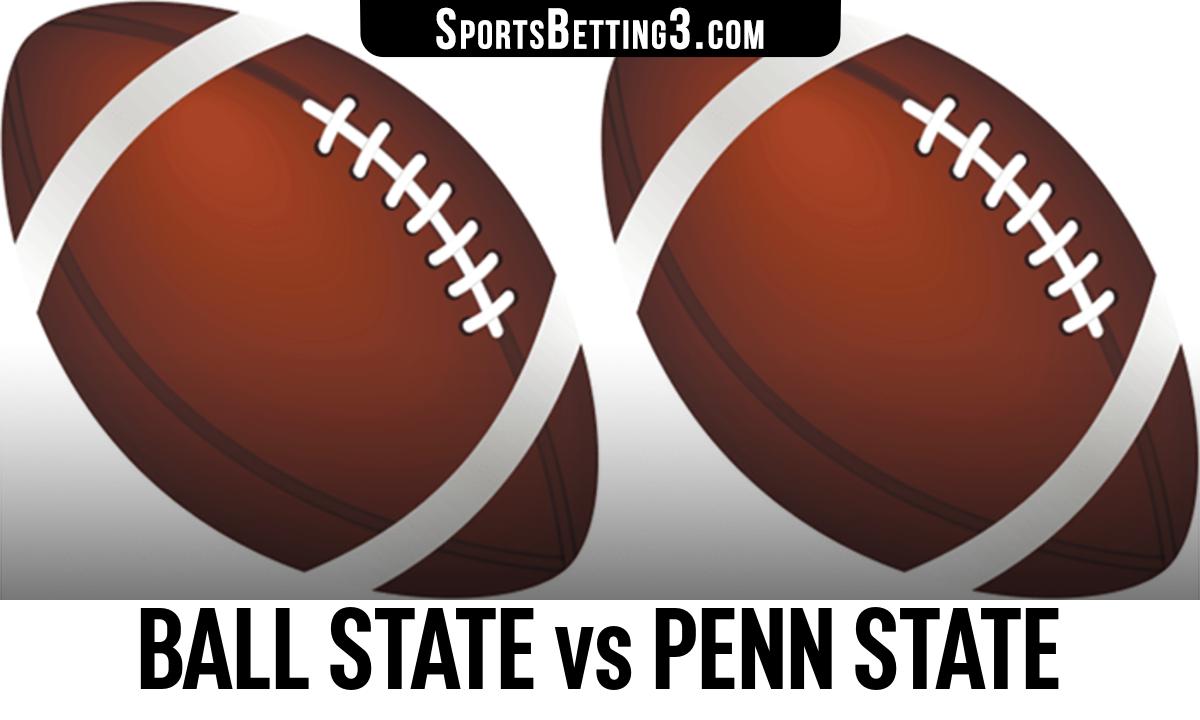 Ball State vs Penn State Betting Odds