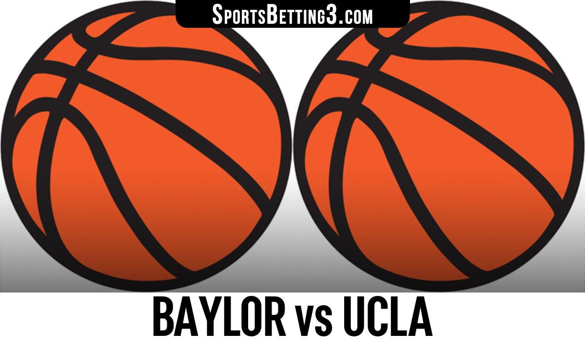 Baylor vs UCLA Betting Odds