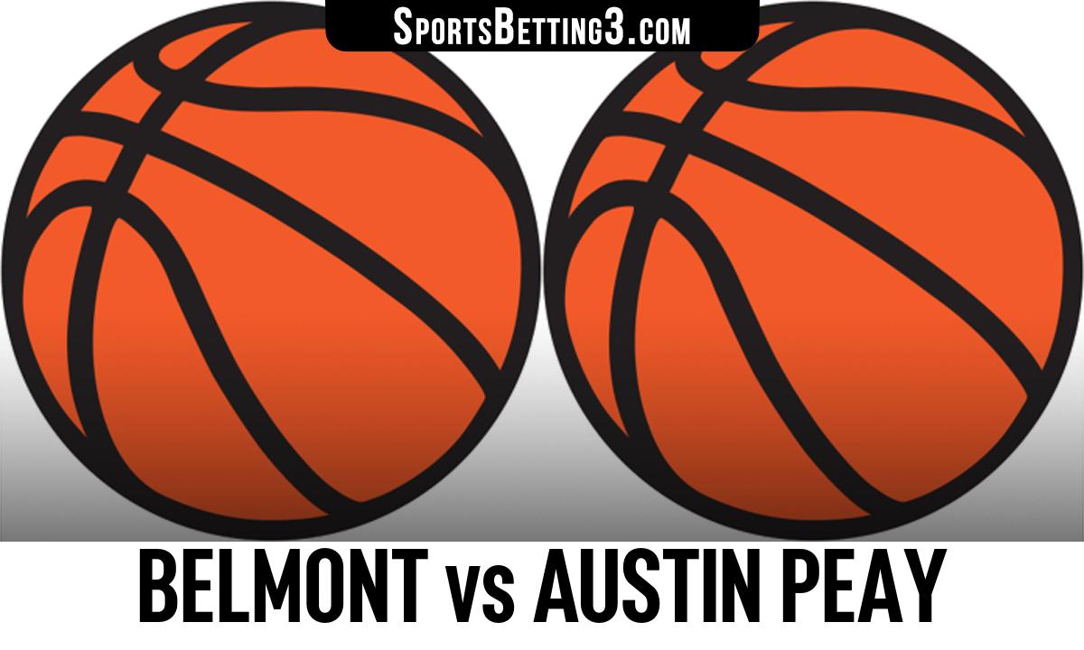 Belmont vs Austin Peay Betting Odds