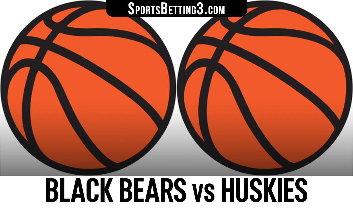 Black Bears vs Huskies Betting Odds