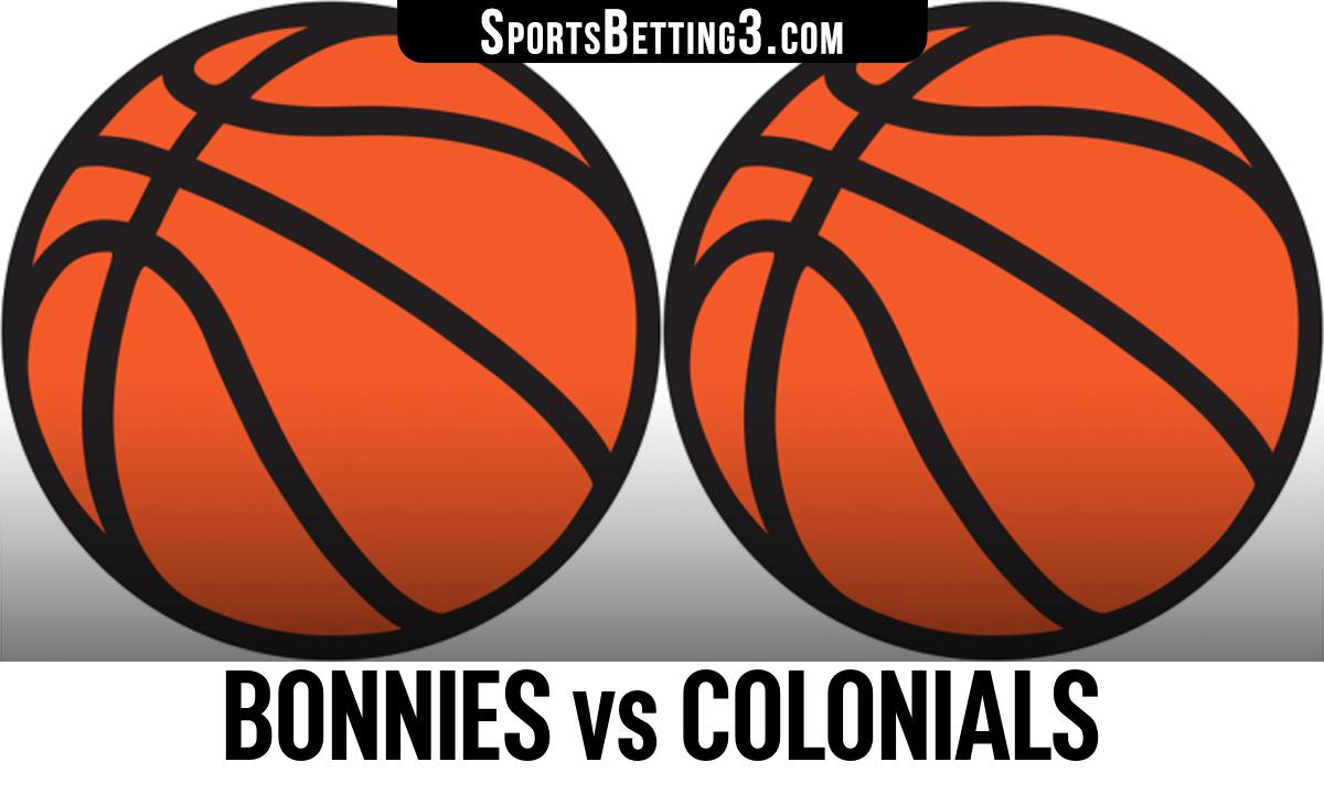 Bonnies vs Colonials Betting Odds
