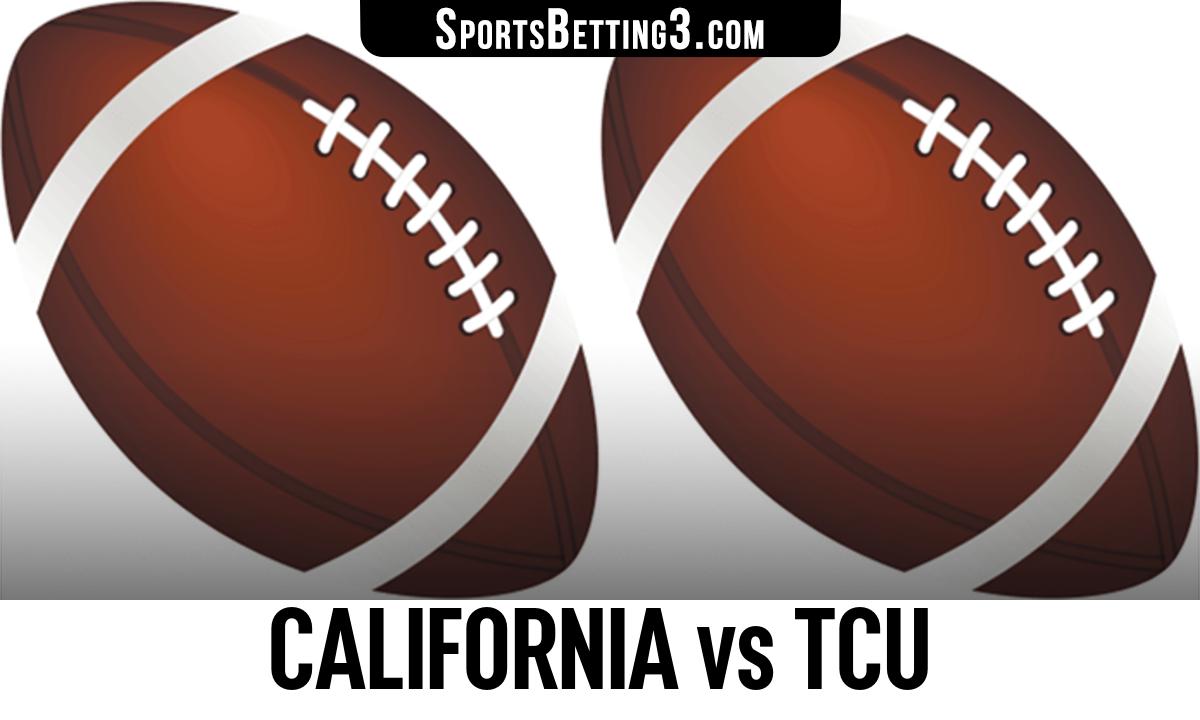 California vs TCU Betting Odds