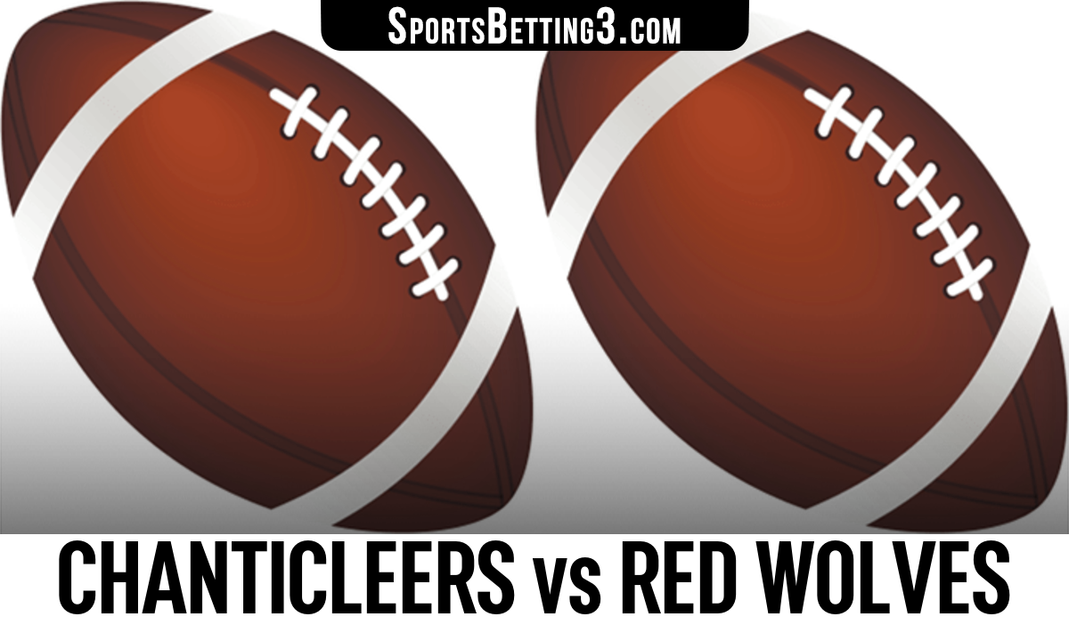 Chanticleers vs Red Wolves Betting Odds