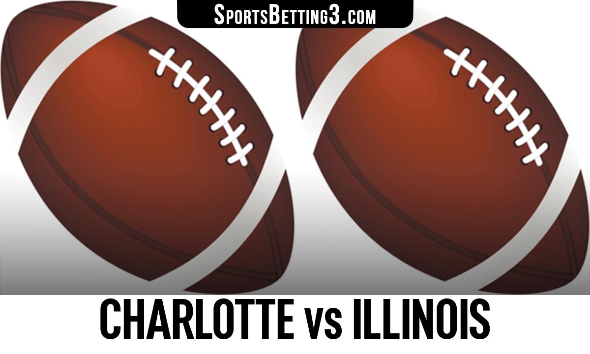 Charlotte vs Illinois Betting Odds