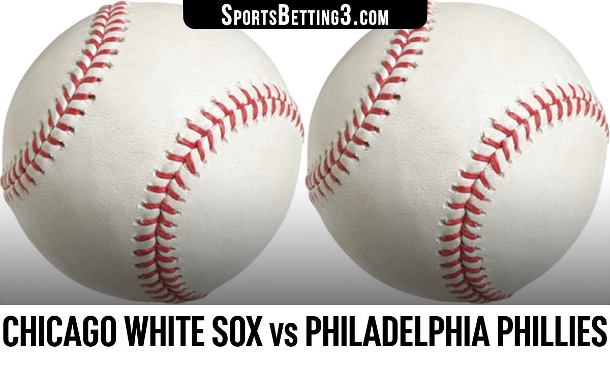Chicago White Sox vs Philadelphia Phillies Betting Odds