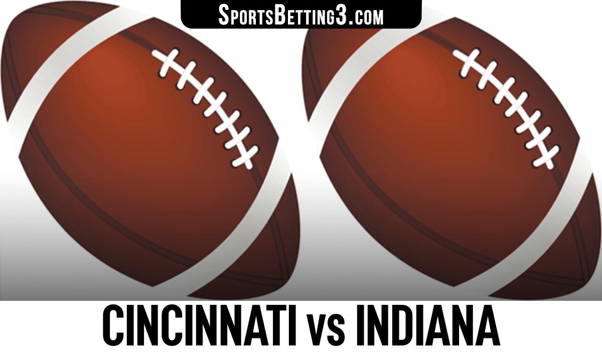 Cincinnati vs Indiana Betting Odds