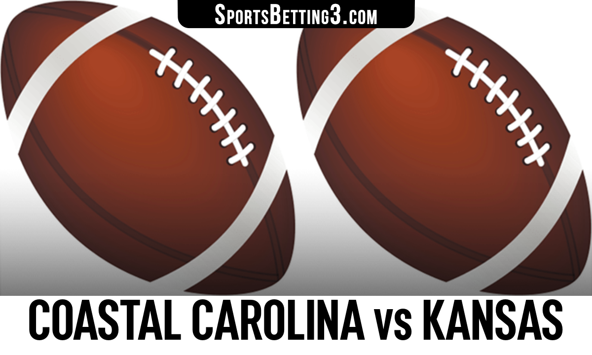 Coastal Carolina vs Kansas Betting Odds