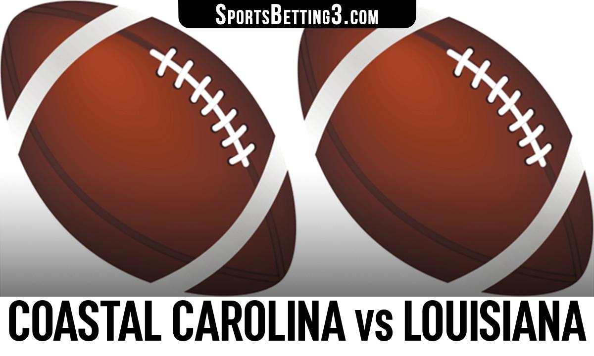 Coastal Carolina vs Louisiana Betting Odds