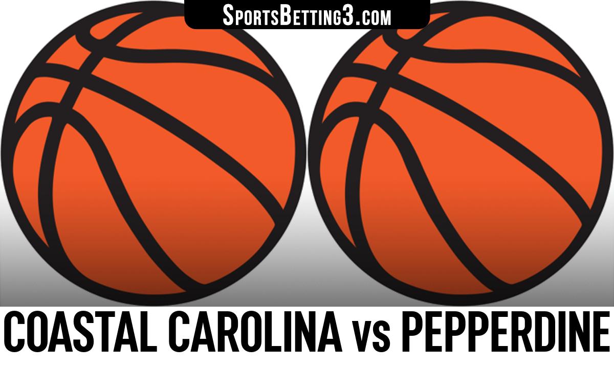 Coastal Carolina vs Pepperdine Betting Odds