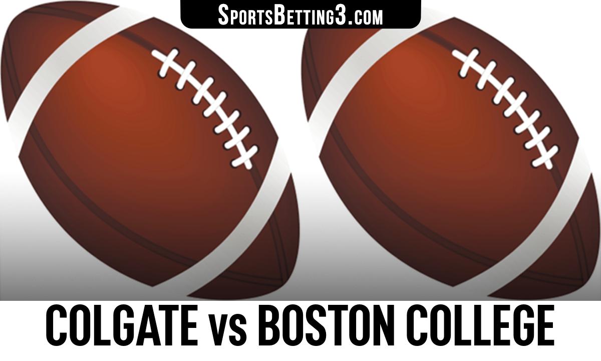 Colgate vs Boston College Betting Odds