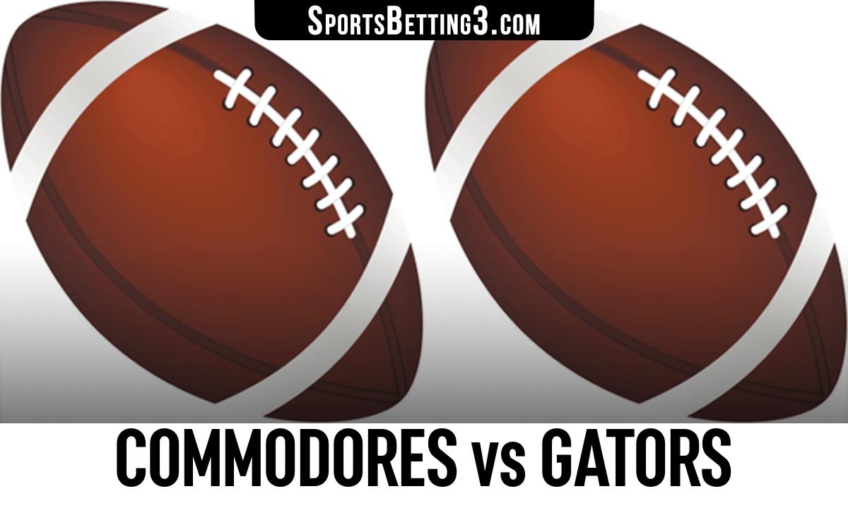 Commodores vs Gators Betting Odds