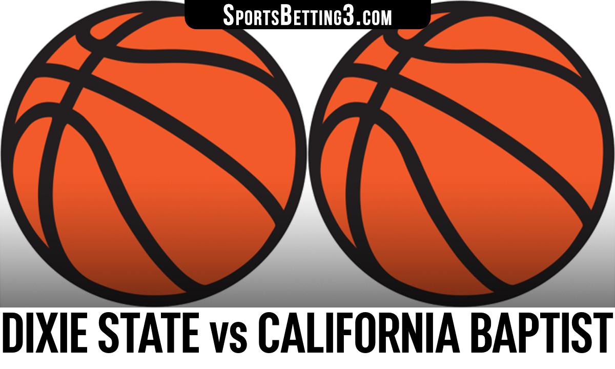 Dixie State vs California Baptist Betting Odds