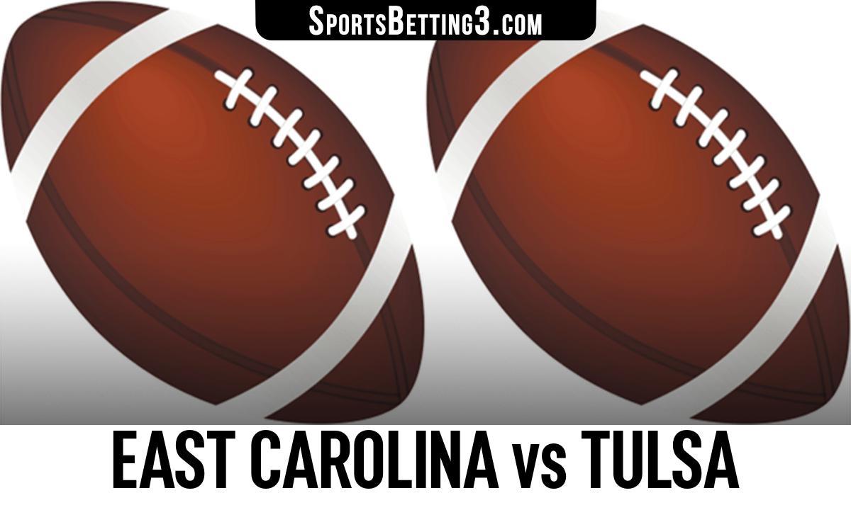 East Carolina vs Tulsa Betting Odds