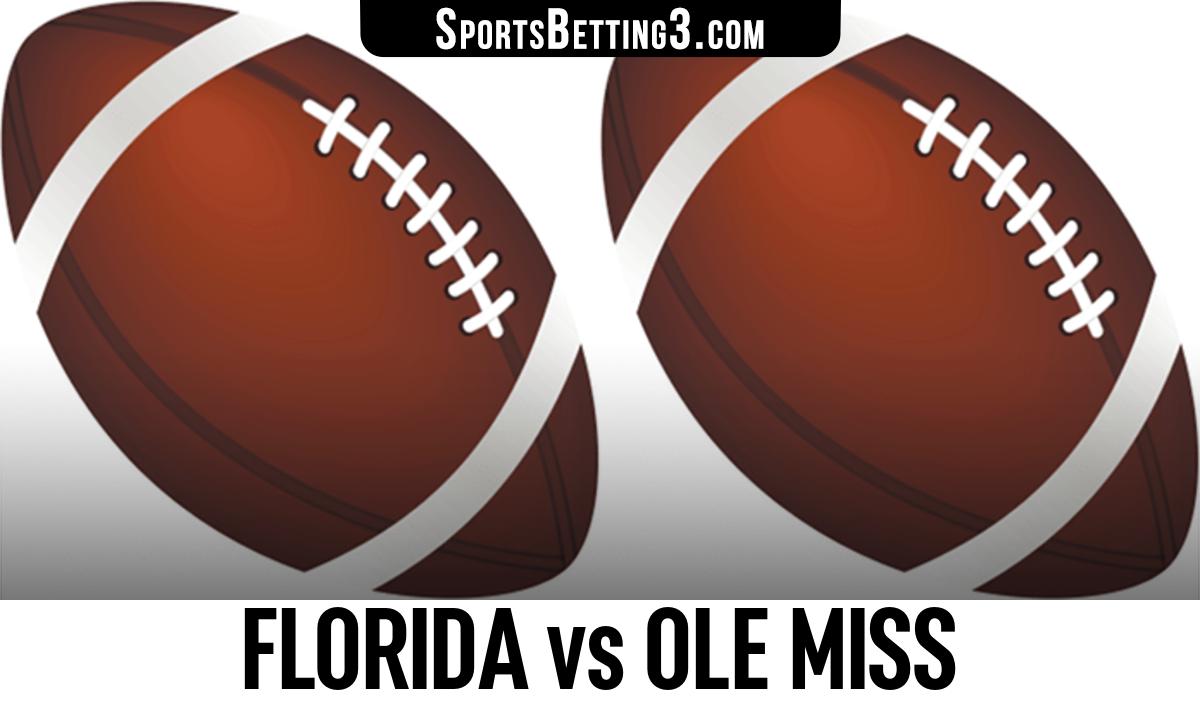 Florida vs Ole Miss Betting Odds