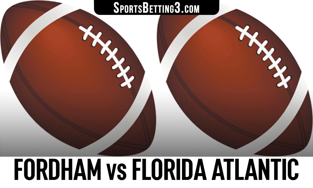Fordham vs Florida Atlantic Betting Odds