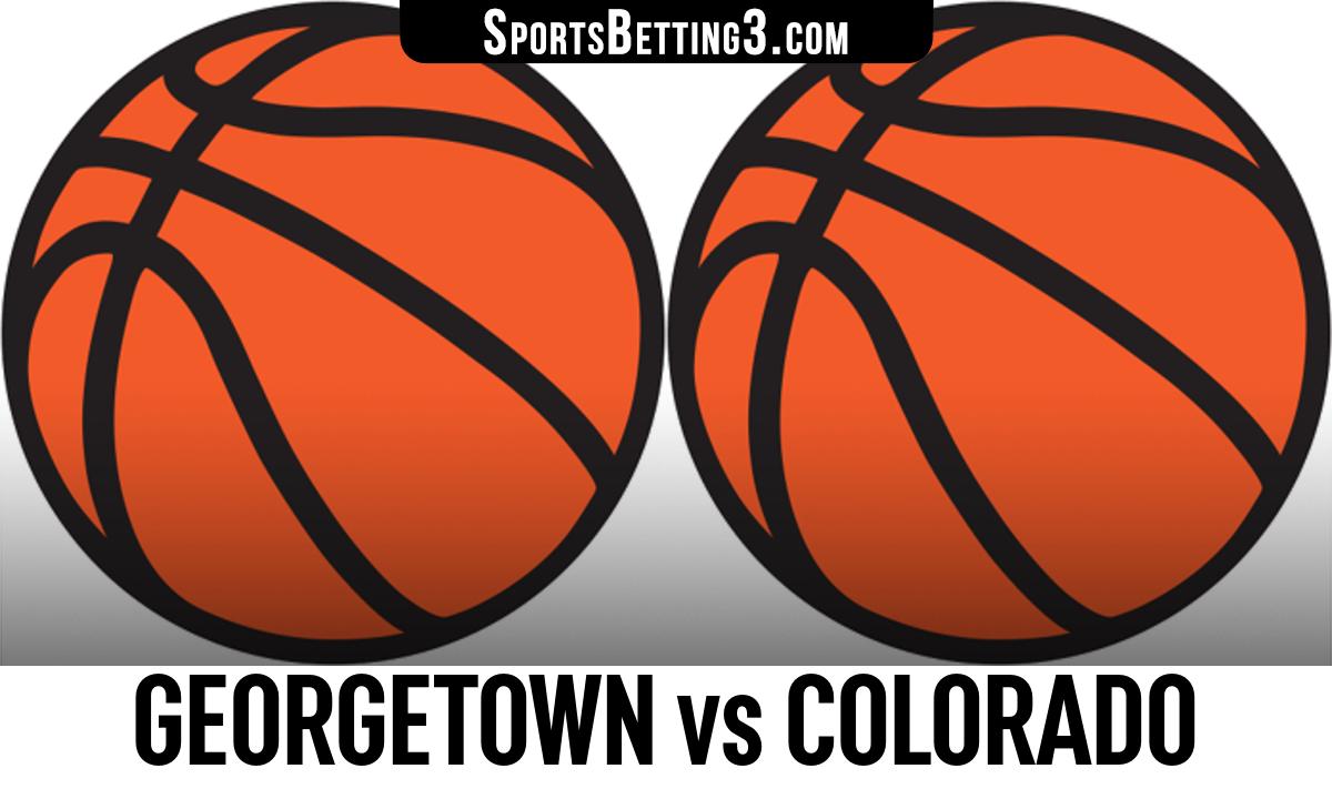 Georgetown vs Colorado Betting Odds