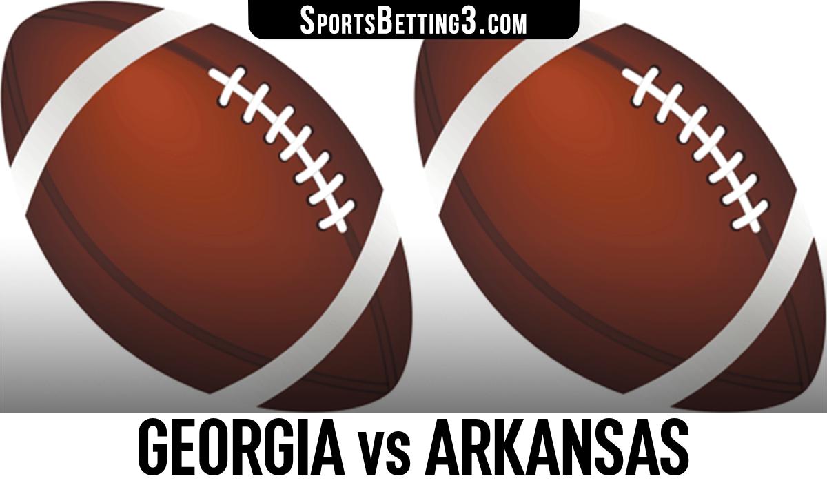 Georgia vs Arkansas Betting Odds