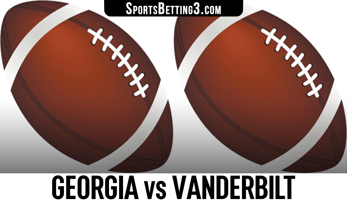 Georgia vs Vanderbilt Betting Odds