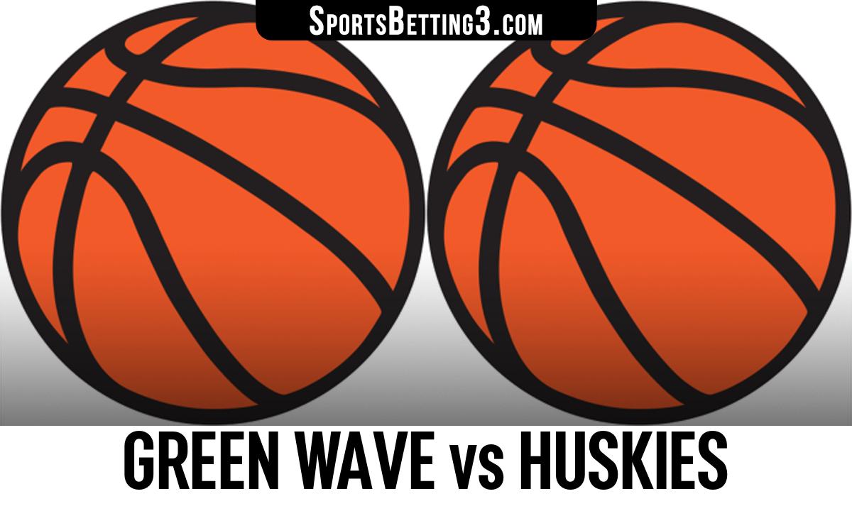 Green Wave vs Huskies Betting Odds