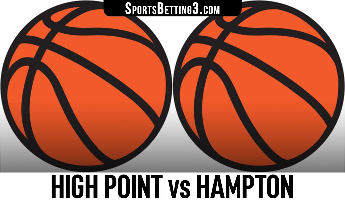 High Point vs Hampton Betting Odds