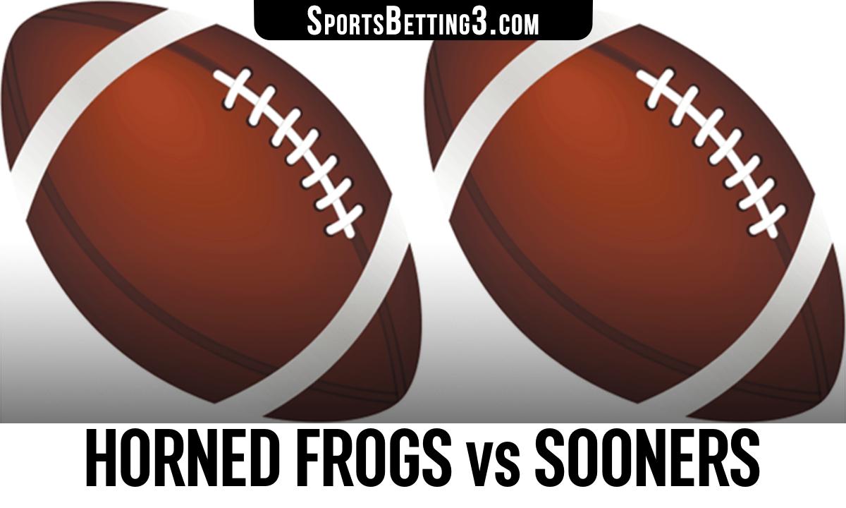 Horned Frogs vs Sooners Betting Odds