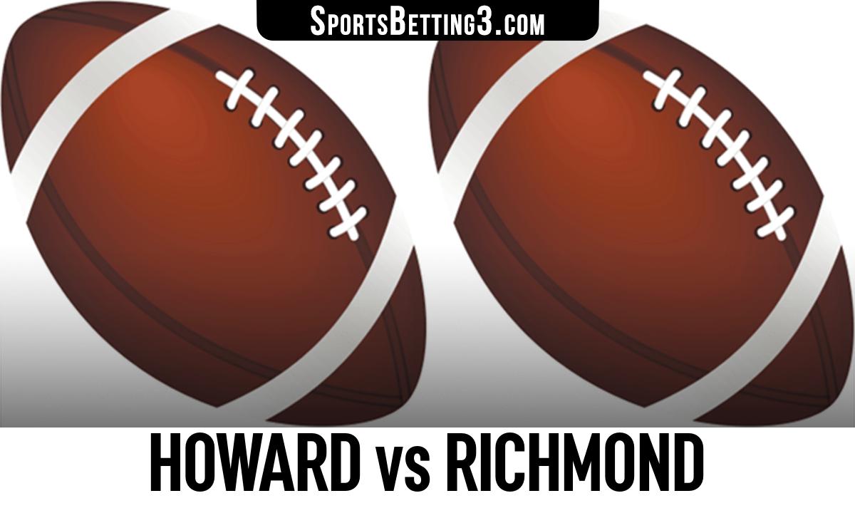 Howard vs Richmond Betting Odds