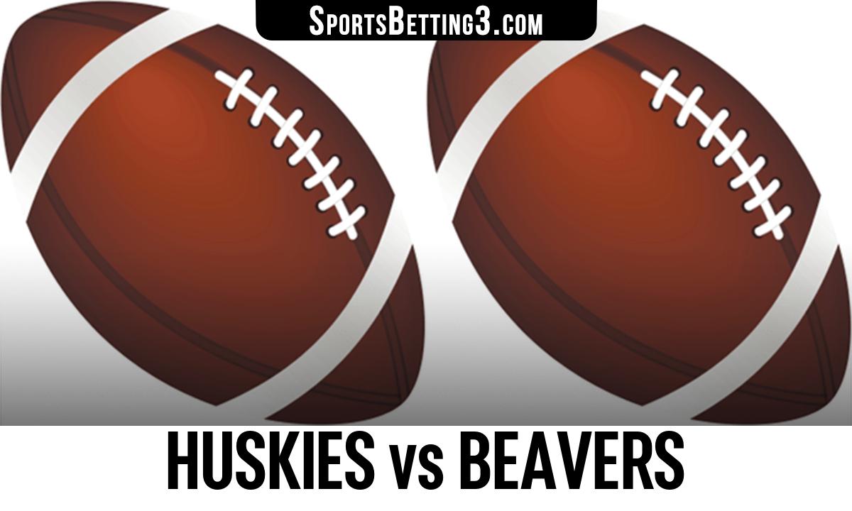 Huskies vs Beavers Betting Odds