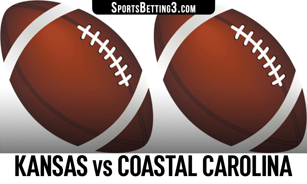 Kansas vs Coastal Carolina Betting Odds
