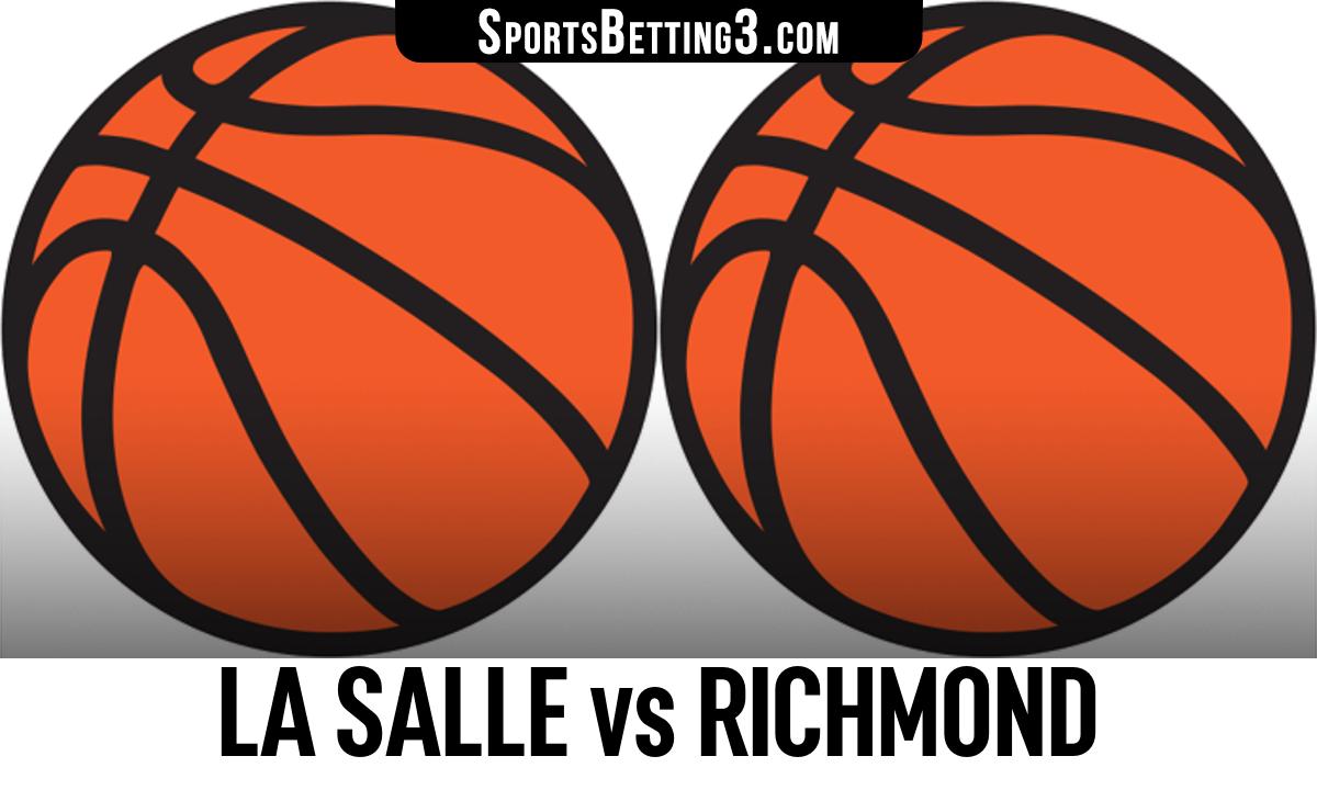 La Salle vs Richmond Betting Odds