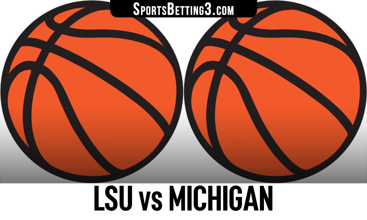 LSU vs Michigan Betting Odds